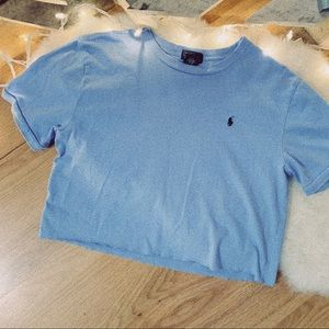 Cropped Polo Tee